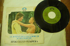 "BIXIO/FRIZZI/TEMPERA""SCARAMOUCHE-disco 45 giri CINEVOX It 1976"" OST"