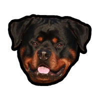 Rottweiler Dog Animal Car Vinyl Decal Sticker Digital Printed Face Model