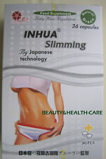 """INHUA SLIMMING- JAPANESE TECHNOLO-FAST WEIGHT LOSS """"36"""" CAPSULES SUPPLEMENT"""