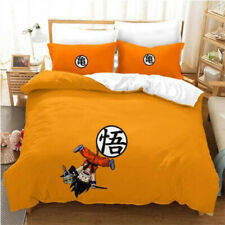 Anime Dragon Ball 3D Print Bedding Set Duvet Cover & Pillowcase E
