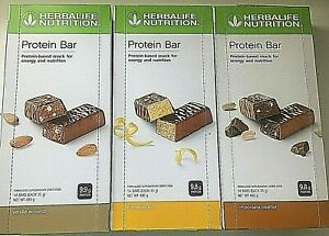 Herbalife Protein Bars 14 Bars per Box Pick your Flavour Free Post