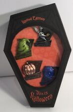 Disney Pin This Is Halloween Pin Set 2013 NBC Jack Sally Artist Proof AP Set LE
