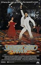 SATURDAY NIGHT FEVER - MOVIE POSTER 24x36 CLASSIC TRAVOLTA 50987