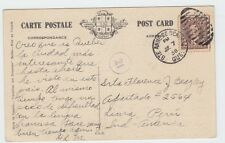 Scarce 2c preferred post card rate to ** PERU ** 1938 w/receiver Canada nice