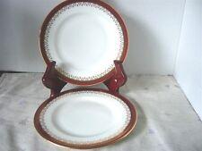 Paragon Fine Bone China Dinnerware 'Red Holyrood'  Dessert Plates England
