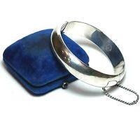 Vintage JPM MEXICO Sterling Silver Bracelet 925 Wide Hinged Bangle IGUALA 30g
