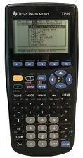 Texas Instruments TI-89 Graphing Calculator w/ Cover Black School Math Algebra