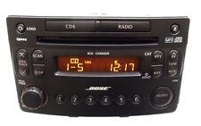 NISSAN 350Z BOSE AM FM Radio Stereo 6 Disc Changer MP3 CD Player CY03D CY18B OEM