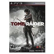NEW TOMB RAIDER PS3 PLAYSTATION 3 VIDEO GAME TRUSTED U.S. SELLER FREE SHIPPING