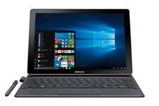 "Samsung Galaxy Book 12"" 2-in-1 Tablet/Laptop - Silver, SM-W720NZKBXAR"