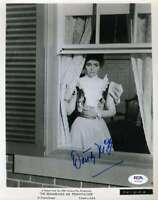 Dorothy Mcguire Psa Dna Coa Signed 8x10 Photo Autograph