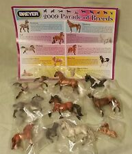 NEW IN BOX BREYER 2009 PARADE OF BREEDS JC PENNEY JCP STABLEMATE SET HORSE FOAL