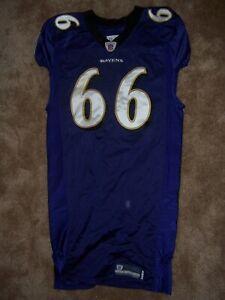 Ben Grubbs Baltimore Ravens Game Worn Jersey
