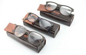 BOSS Orange Brillen 3 Stück Konvolut Lot Propionate Acetate Karree + OVP