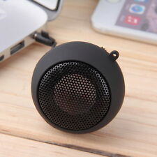 Black Mini Portable Hamburger Speaker For iPod iPhone Tablet Laptop PC MP3 FY