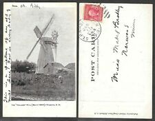 1907 South Dakota Postcard - Milbank - The Holland Mill, Windmill