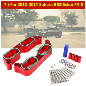 Fit For 2013-2017 Subaru BRZ Scion FR-S Power Block Intake Manifold Spacers Part