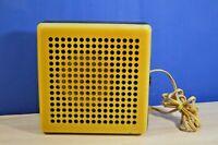 Soviet vintage old radio-speaker .  . USSR 1970s