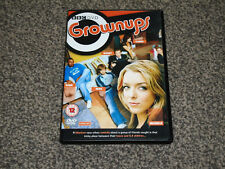 GROWNUPS : SERIES 1 - 2 DISC BBC TV COMEDY DVD SET IN VGC (FREE UK P&P)