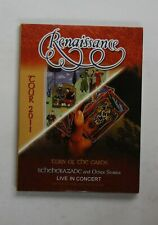Renaissance Tour 2011 Live In Concert (Turn Of The Cards / Scheherazade) 2CD+DVD