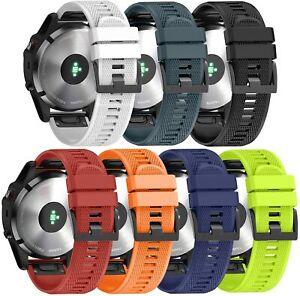 For Garmin Fenix 5 / 5 Plus Strap Silicone Fitness Quick Release Sports Band