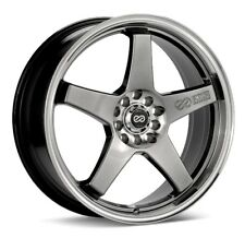 17x7 Enkei EV5 4x100/108 +45 Rims Fits 4 Lug Civic Jetta Miata Xb Ek
