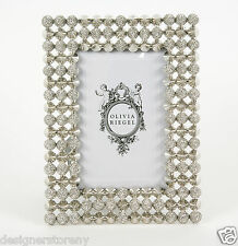 Olivia Riegel Mercer Picture Photo Frame with Swarovski® crystals stones 4x6""