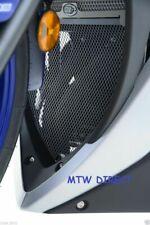Yamaha YZF R25 2016 R&G Racing Downpipe Grille DG0019BK Black