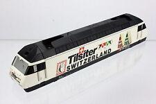 """Märklin 34613 Gehäuse Aufbau von E-Lok RE 460 020-1 """"Tilsiter"""" der SBB in weiss"""