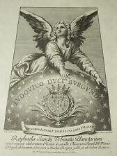 Los Planetas Nicolas Dorigny Apr Raphael 1695 Para Luis Borgoña Grabado