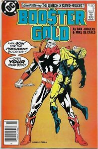 Booster Gold #9 - VF/NM - Legion of Super Heroes