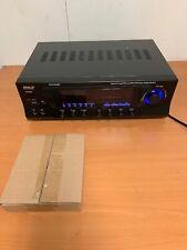 New listing Pyle Pt272Aubt 300 Watt Stereo Amplifier Receiver Usb/Sd,Bluetooth Am-Fm Tuner