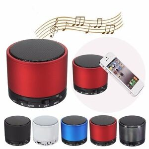 Mini HiFi BeatBox Bluetooth TF MP3 Player Phone Handfree Mic Stereo Speaker