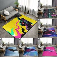 Spider-Man Miles Morales Area Rug Soft Carpet Floor Mat Decor Modern Flannel Rug