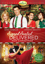 SIGNED SEALED DELIVERED FOR CHRISTMAS  DVD Hallmark Channel free shipping!