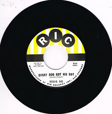 EDDIE BO - EVERY DOG HAS HIS DAY / TELL ME LIKE IT IS New Orleans Rhythm & Blues