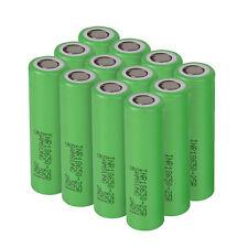 10Lot Samsung 18650 Lithium 25R 2500mAh 25A Li-ion Battery Vape Battery US SHIP