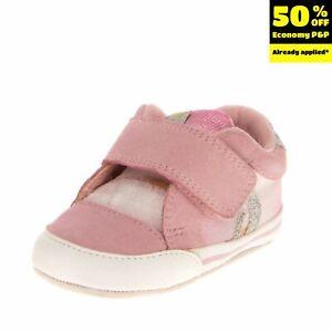 GEOX RESPIRA Baby Sneakers EU 19 UK 3 US 4 Contrast Leather Antibacterial Ombre