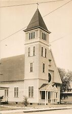 A View Of The Catholic Church, Groveton, New Hampshire NH RPPC