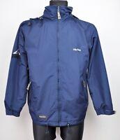 NAUTICA 3in1 Jacket + Fleece Mens Small Hooded Navy Hiking Coat Jumper S Camping