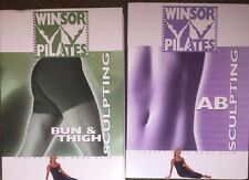 Winsor Pilates 2 DVDs - Bun and Thigh Sculpting | Ab Sculpting - Free Shipping!