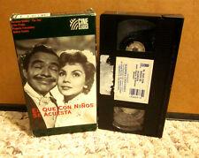 EL QUE CON NINOS SE ACUESTA German Valdes 1957 Tin-Tan comedy Spanglish VHS