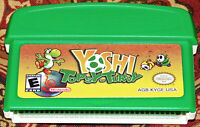Yoshi Topsy Turvy Official Nintendo Game GBA GameBoy Advance Authentic NES RARE