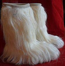 Tecnica Yaghi Prestige Women's Snow Boots White Size 7 NEW 0195-29 Fur Fashion