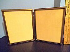 Vintage Decorative Bi Fold Metal Picture Frame