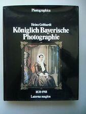 Königlich bayerische Photographie 1838-1918 von 1978 Fotografie Bayern