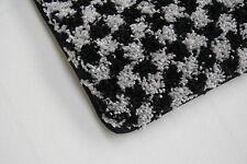 Quality Large Black Grey Pile Rug 120cm x 160cm 10mm Thick Rug Alhambra 96