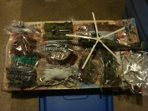 Marx Battle ground #4204 WWII 1978 Playset. See Pic's. SHIP'S FREE! NEW PRICE!
