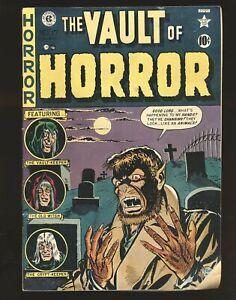 Vault Of Horror # 17 - Classic Werewolf cover Fair/Good Cond.
