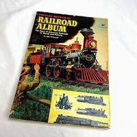 Vtg Popular Mechanics Railroad Album Locomotive American Expansion Story